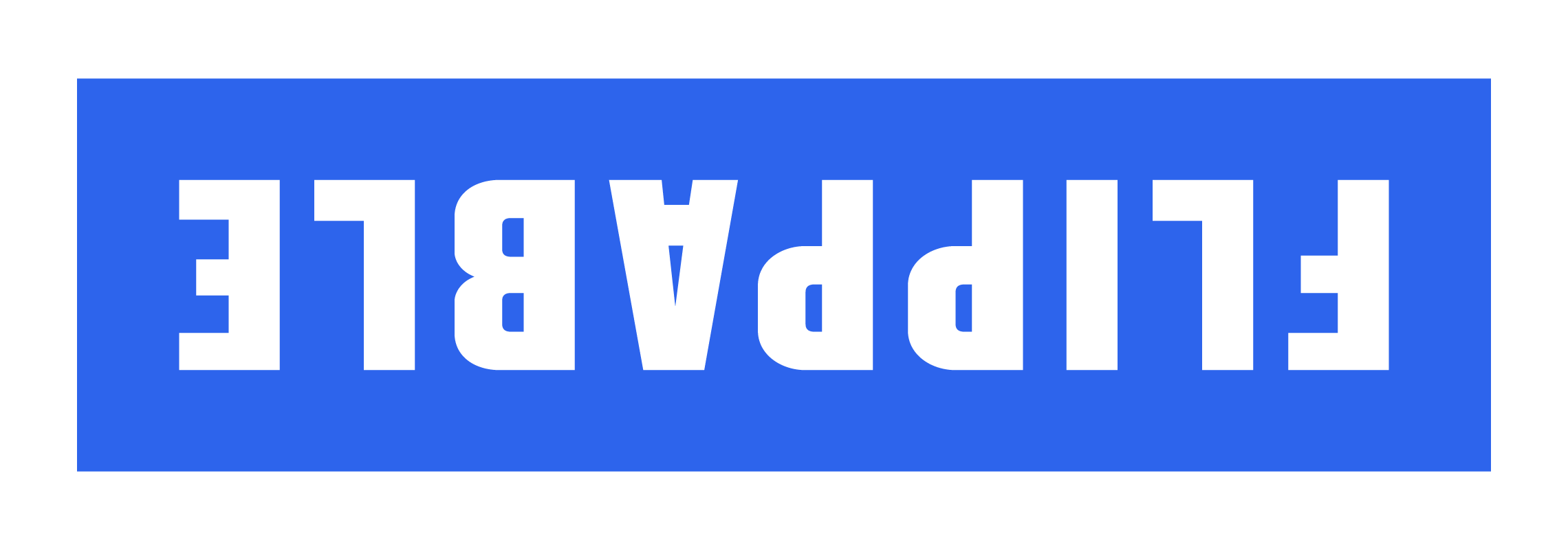 Flippable Logo