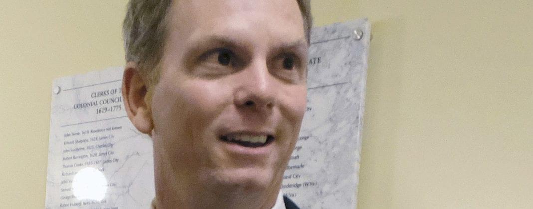 Virginia state Sen. Bill DeSteph (AP Photo/Richmond Times-Dispatch, Bob Brown)