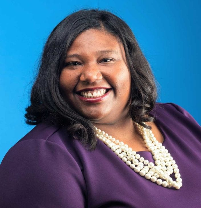Headshot of Aisha Sanders, Mississippi House of Representatives Democratic Candidate