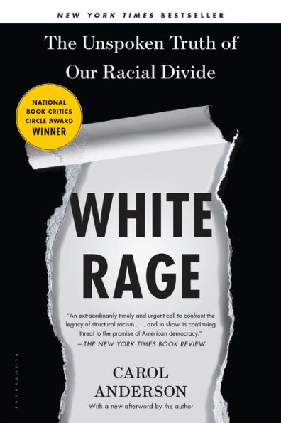 Cover of White Rage Book by Carol Anderson